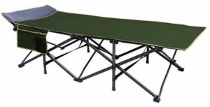 OSAGE RIVER 600lb Deluxe Folding Camping Cot