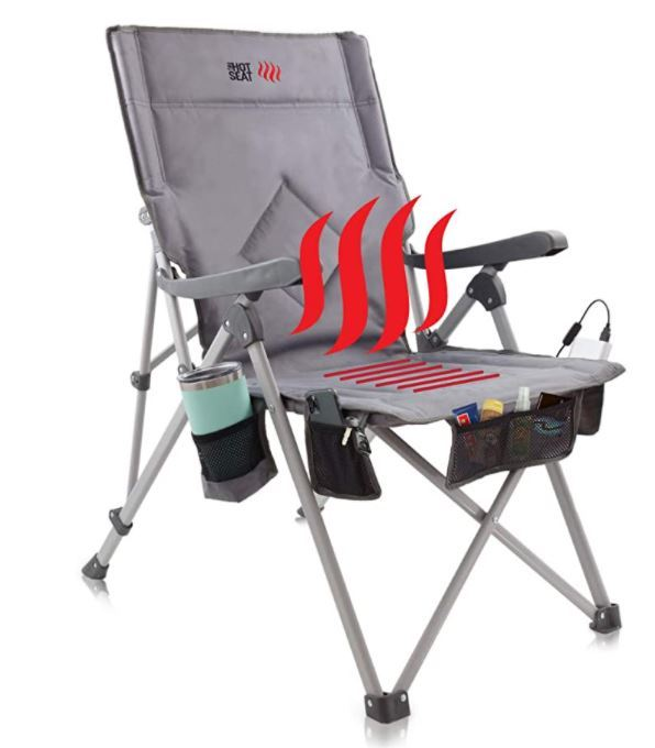 POP Design The Hot Seat Heated Portable Chair.