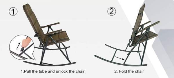 Folding chair, no assembly.
