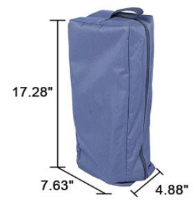 These are the dimensions of the cot in its carry bag.
