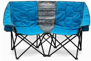 SUNNYFEEL Double Folding Camping Chair.