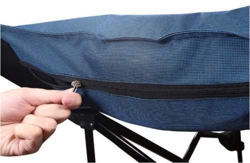 A zippered pocket for pillow.