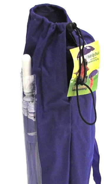Separate pouch for the umbrella.