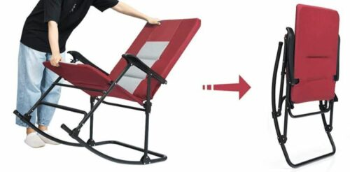 Easy to use folding design.