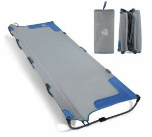 DEERFAMY Camping Cot Easy Set up with Carry Bag.