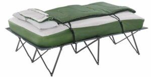 Outsunny Compact Collapsible Portable Camping Cot Bed Set