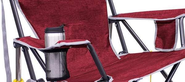 Soft armrests.