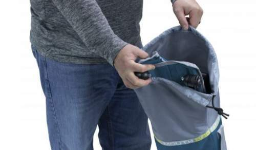Wide mouth carry bag is included.