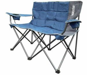 NORSEEVA Heavy Duty Loveseat Camping Chair.