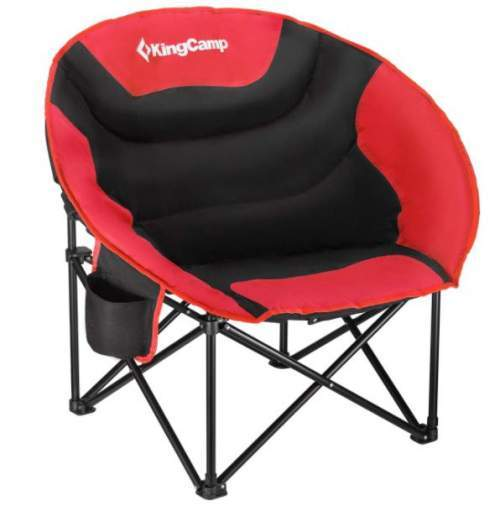 KingCamp Camping Chair Moon Saucer Folding Round Chair