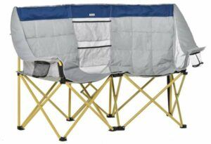 Outsunny Double Seat Camping Chair