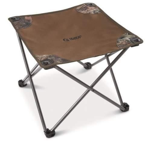 Folding stool.