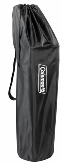 The carry bag.