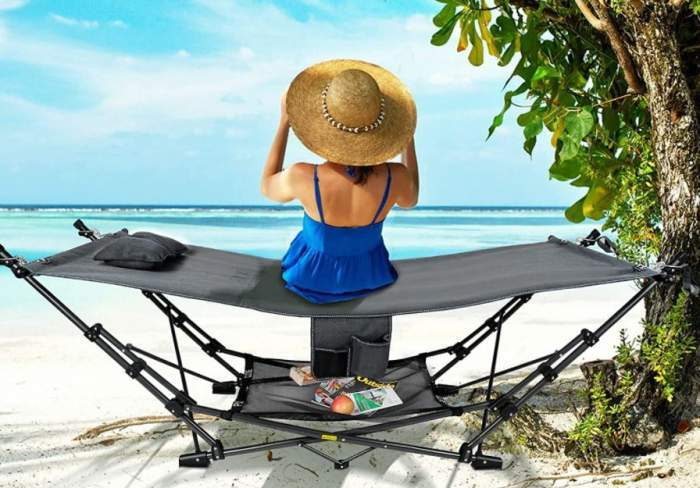 RedSwing Portable Folding Hammock with Stand.