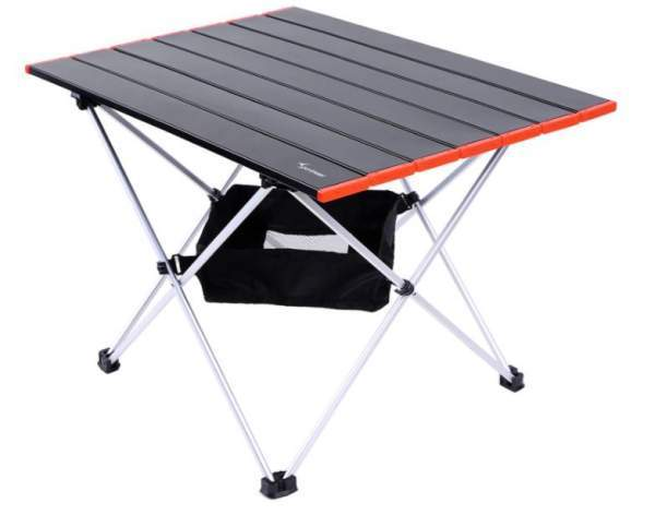 Sportneer Portable Camping Tables with Mesh Storage Bag