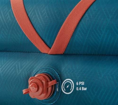 Single inflate/deflate valve.