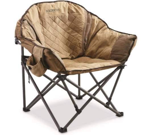 Bolderton Heritage Oversized Club Camp Chair